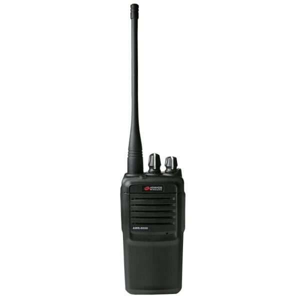 AWR-8000 two-way radio with antenna