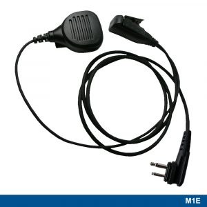 M1E Mini Speaker Microphone With Two-wire PTT – 215549