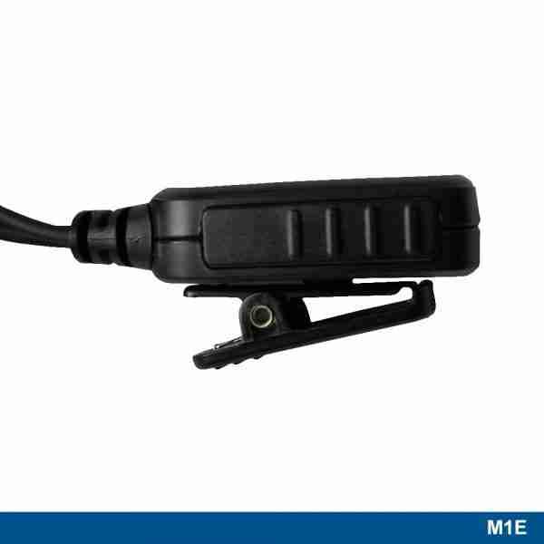 M1E Standard Surveillance Headset PTT button clip