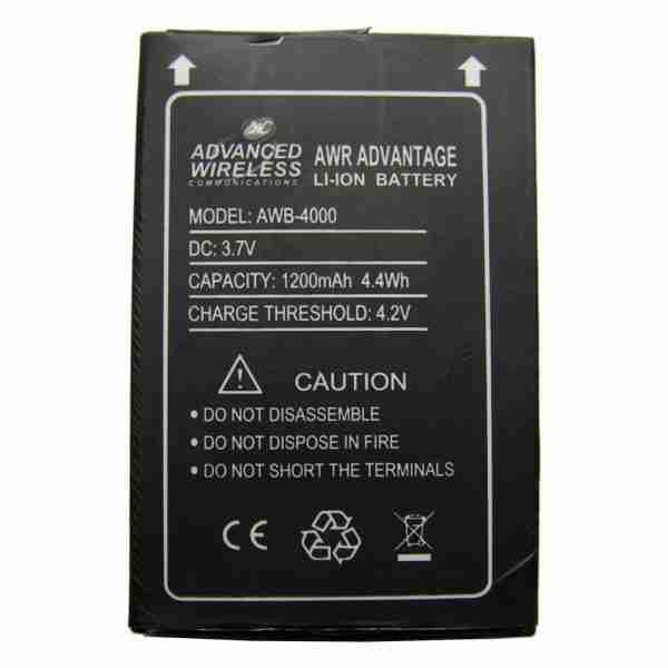 Battery for AWR Advantage Two-Way Radio
