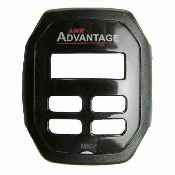 AWR Advantage two-way radio black faceplate