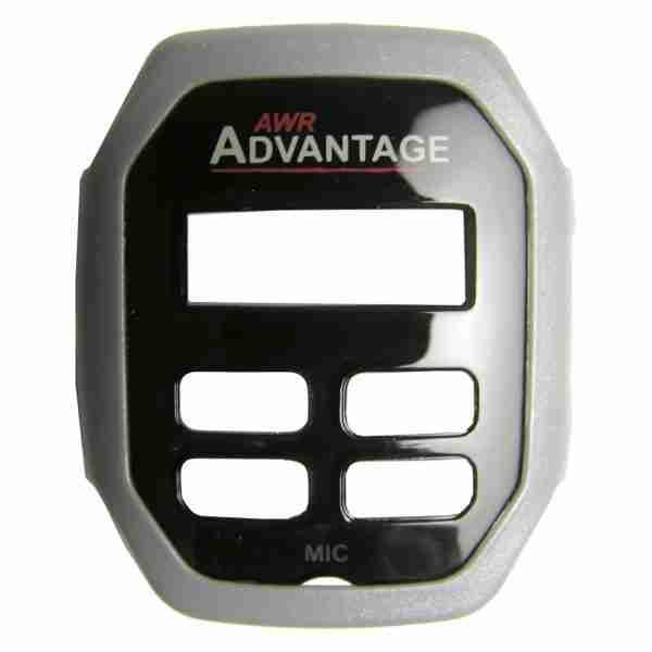 AWR Advantage Two-Way Radio silver faceplate
