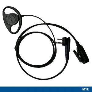 M1E Ear Loop Headset With Two-wire PTT – 221109