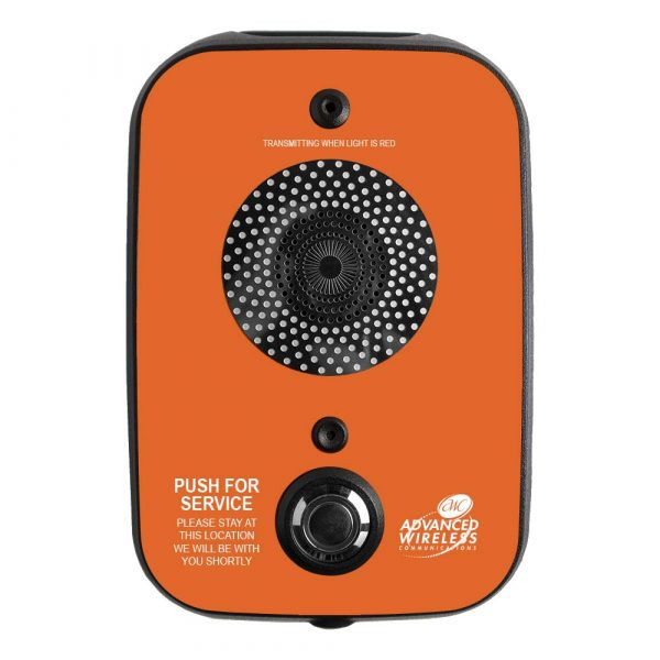 AWC One-way Call Box-Orange