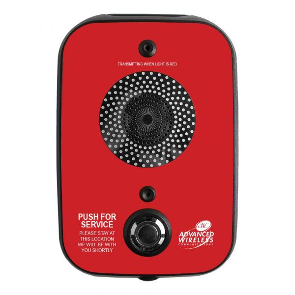AWC One-way Call Box-Red