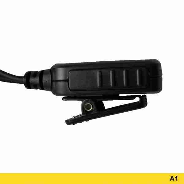 A1 Standard Surveillance Headset PTT button clip
