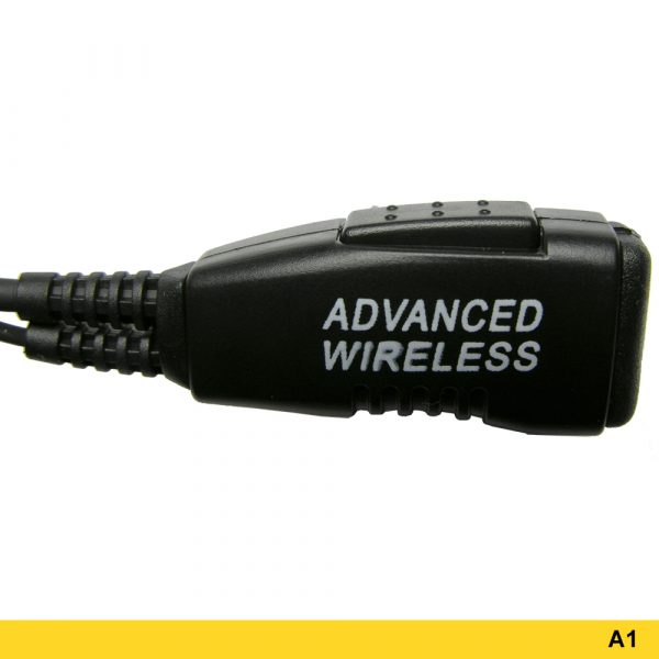A1 Two wire ptt microphone headset