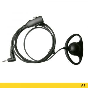 A1 Ear Loop Headset With Two-wire PTT – 209883