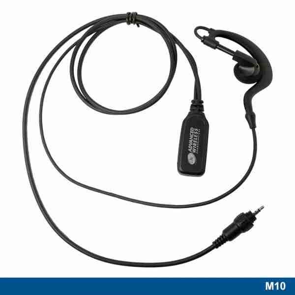 M10 ear hook headset