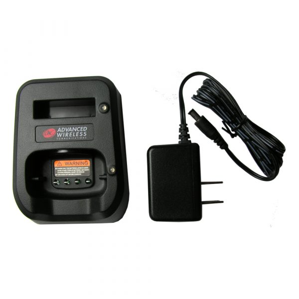 AWR Advantage / Plus two-way radios' Single Unit Charger