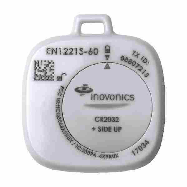 Single Button Waterproof pendant Transmitter without Lanyard EN1221S-60N