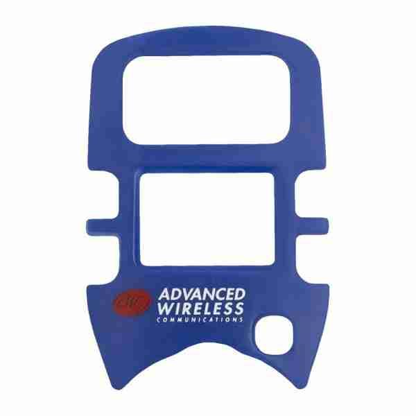 MINI 4 Two-Way Radio blue faceplate