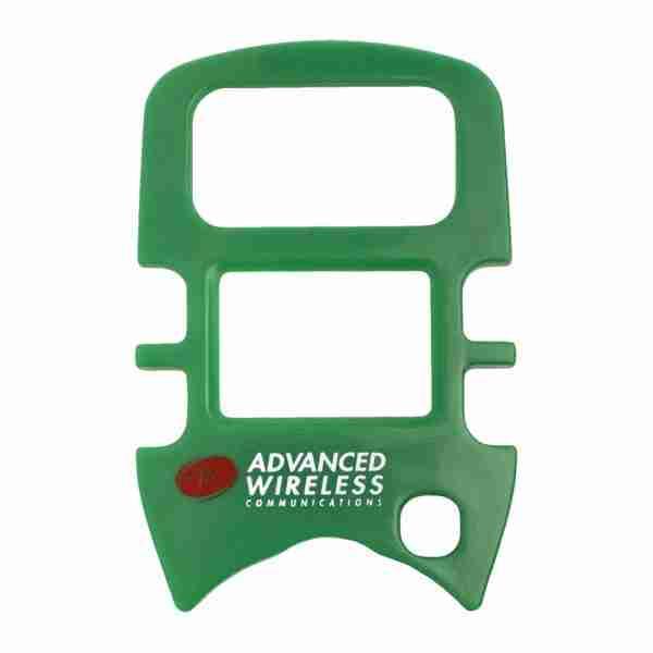 MINI 4 Two-Way Radio green faceplate