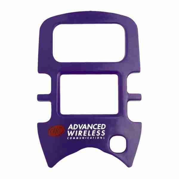 MINI 4 Two-Way Radio purple faceplate