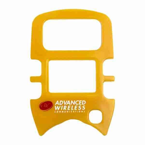MINI 4 Two-Way Radio yellow faceplate