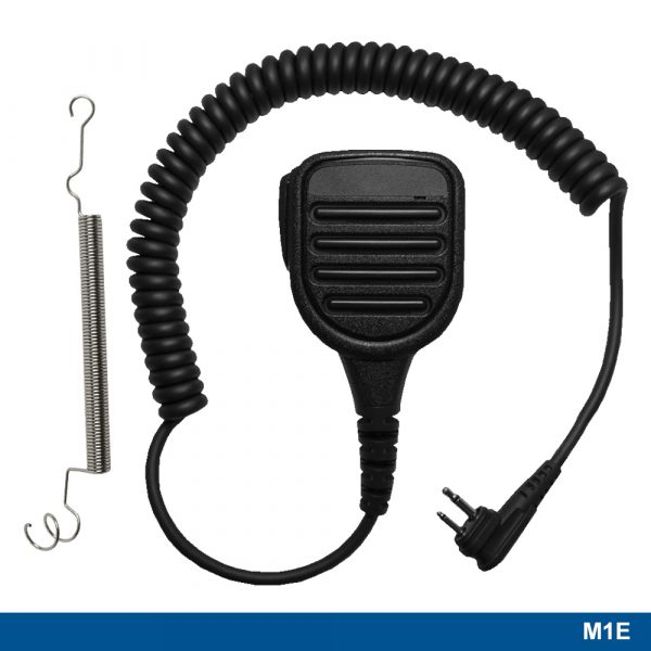 M1E Large Speaker Microphone with spring