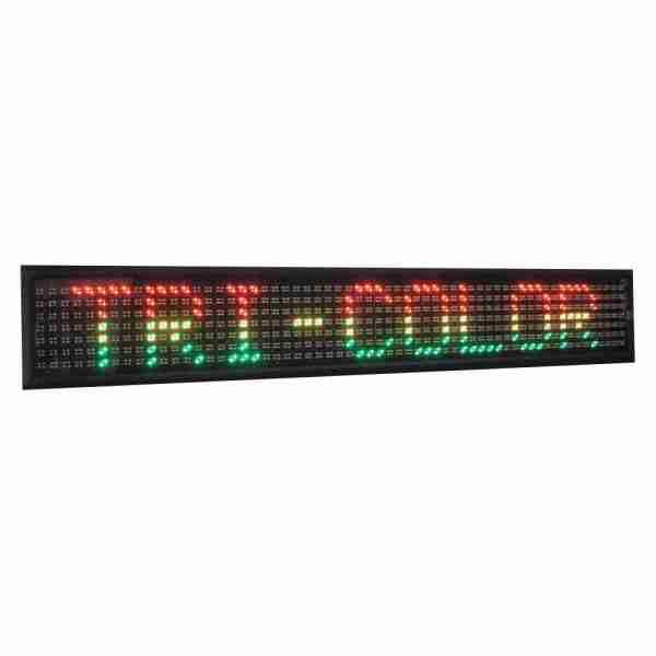 LED scrolling sign- tri color
