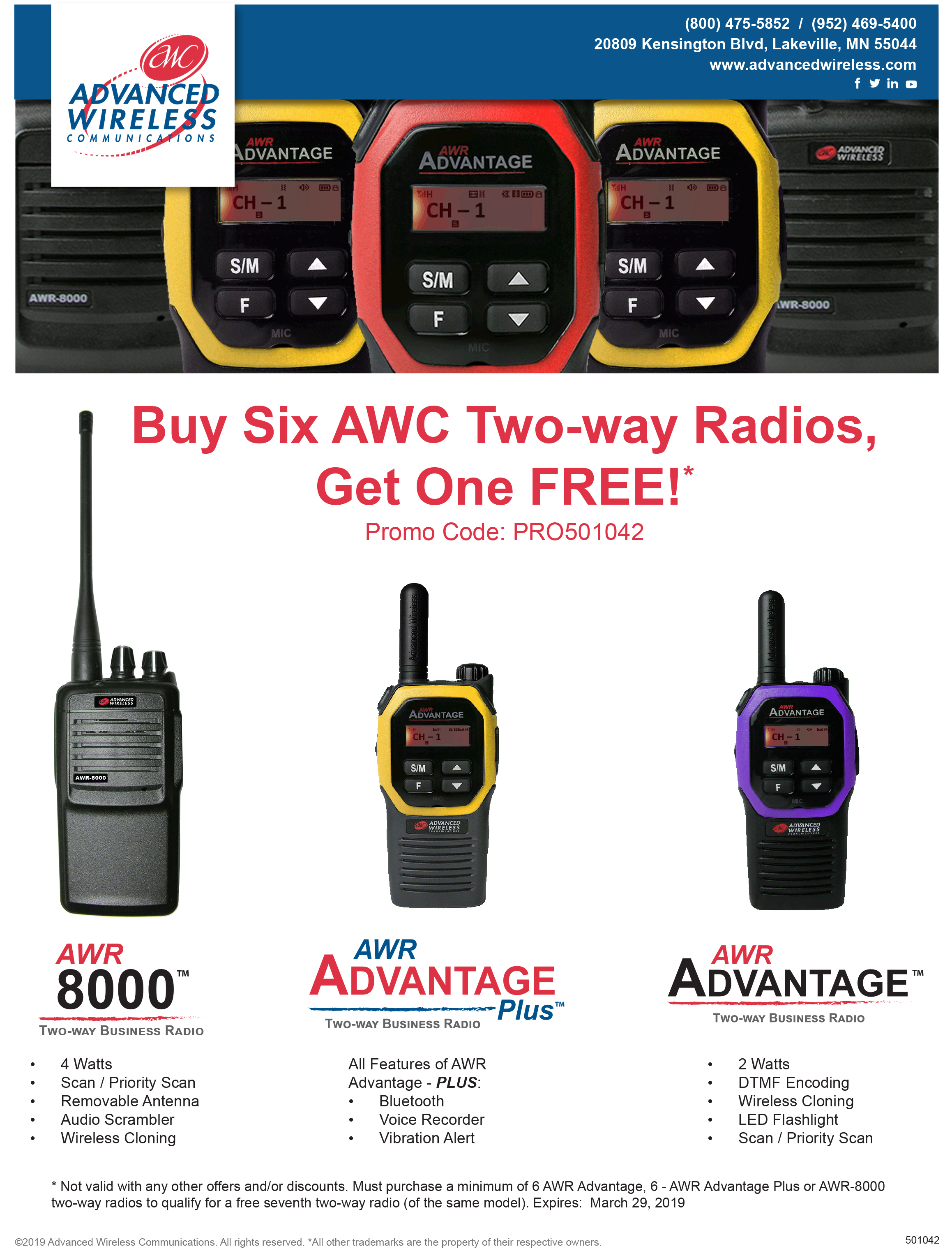 Radio Promotion By Advanced Wireless