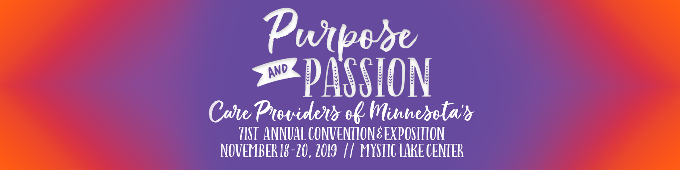 Care Providers Of Minnesota 71st Annual Convention & Exposition