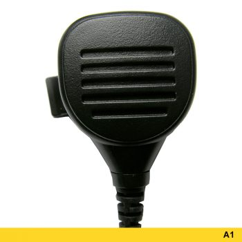 A1 Mini Speaker Microphone With Coiled Two-wire PTT - 207681