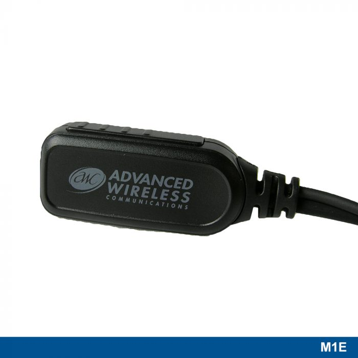 M1E Ear Loop Headset with Two-wire PTT - 221109