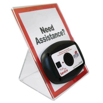 Large Acrylic Stand With Signage For MINI Call Box – 915852