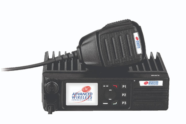 Specification sheet D7700 mobile radio